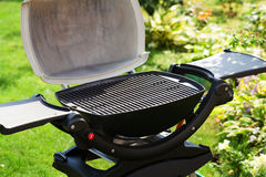 Barbecue grill. At outdoor garden Stock Photo