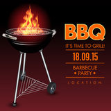 Barbecue grill party Royalty Free Stock Image