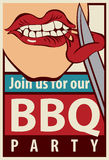 Barbecue grill party Royalty Free Stock Photography