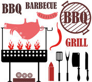 Barbecue Grill. Vector illustration (EPS 10 Royalty Free Stock Photos