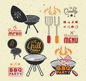 Barbecue grill Royalty Free Stock Image