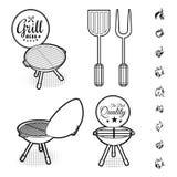 Barbecue grill vector vector illustration
