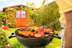 barbecue grilla odizolowywającego Zdjęcie Royalty Free