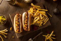 Barbecue Grilled Hot Dog Royalty Free Stock Photos