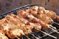 Barbecue grills Stock Image
