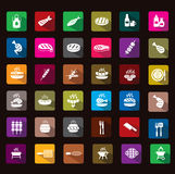 Barbecue icon. This icon is really cool, pls download Royalty Free Stock Image