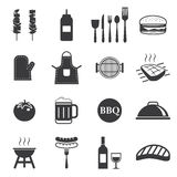 Barbecue icon Stock Images
