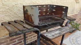 Barbecue irregolare Fotografie Stock Libere da Diritti