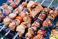 barbecue kebab fotos de stock