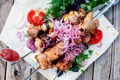 barbecue kebab fotografia de stock royalty free