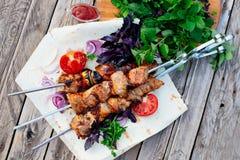 barbecue kebab imagem de stock royalty free