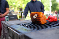 Barbecue. With a lot of meat Royalty Free Stock Photography
