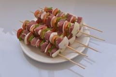 Barbecue mélangé Image libre de droits