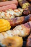 Barbecue mélangé Photos stock
