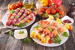 Barbecue meal Stock Photography