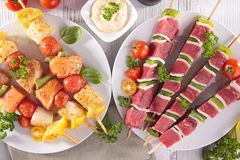 Barbecue meal royalty free stock images