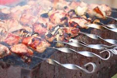 Barbecue meat Stock Photography