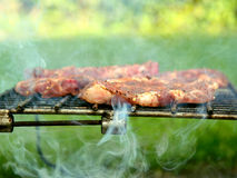 Barbecue meat Royalty Free Stock Photo