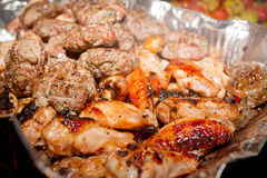Barbecue assorti Royalty Free Stock Photography
