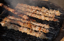 Barbecue meat - the ingredient of famous Vietnamese noodle soup Stock Photos