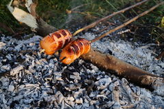 Barbecue. In the nature it is fine Stock Images