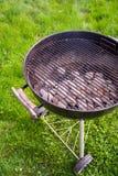 Barbecue op het Gazon Royalty-vrije Stock Afbeelding