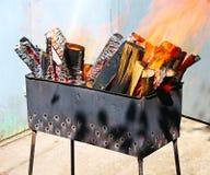 Barbecue outdoor Royalty Free Stock Photos