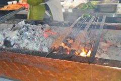 Barbecue, Outdoor Grill, Barbecue Grill, Meat Stock Images