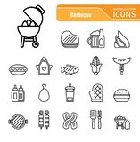 Barbecue & Food - Iconset Icons. Barbecue vector illustration