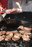 Barbecue party. Outdoor picnic party Stock Photography