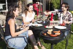 Barbecue party Royalty Free Stock Photos