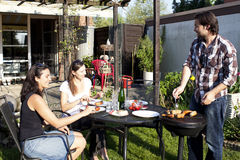 Barbecue Party Royalty Free Stock Photo