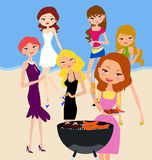 Barbecue Party Stock Images