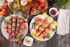 Barbecue party Royalty Free Stock Images