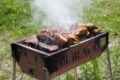 Barbecue piacevole fresco. Immagini Stock