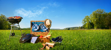 Free Barbecue Picnic Royalty Free Stock Image - 95500446