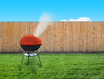 Barbecue picnic on backyard Stock Photography
