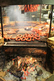 Barbecue pit Stock Photos