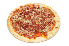 Barbecue pizza Stock Photo