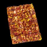 Barbecue Pizza Royalty Free Stock Photos