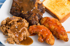 Barbecue Plate Stock Photos