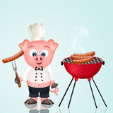 Barbecue pork Royalty Free Stock Images