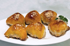 Barbecue Pork Pastry Dim Sum Royalty Free Stock Images