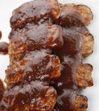 Barbecue Pork Ribs Stock Images