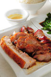 Barbecue pork roasted pork Royalty Free Stock Image