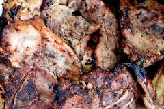 Barbecue porks Stock Photo