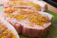 Barbecue prêt pour la cuisson Images libres de droits