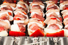 Barbecue preparation Royalty Free Stock Photo