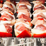 Barbecue preparation Royalty Free Stock Photography
