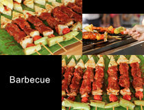 Barbecue ready for eat. Royalty Free Stock Photo